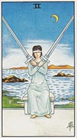 Two of Swords Universal Rider Waite