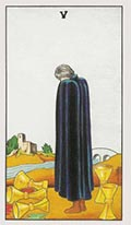 Five of Cups Universal Rider Waite