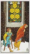 Five of Pentacles Universal Rider Waite