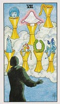 Seven of Cups Universal Rider Waite