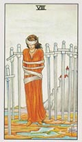 Eight of Swords Universal Rider Waite