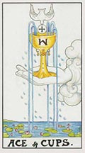Ace of Cups Universal Rider Waite