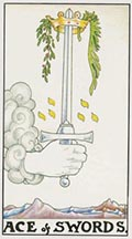 Ace of Swords Universal Rider Waite