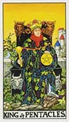 King of Pentacles Universal Rider Waite
