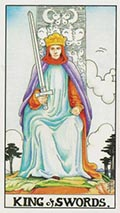King of Swords Universal Rider Waite