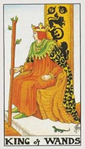 King of Wands Universal Rider Waite