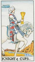 Knight of Cups Universal Rider Waite
