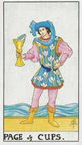 Page of Cups Universal Rider Waite