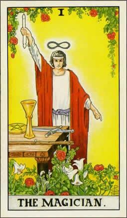 Tarot Heaven Magician