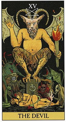 The Devil After Tarot Deck