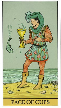 Page Of Cups Tarot Heaven