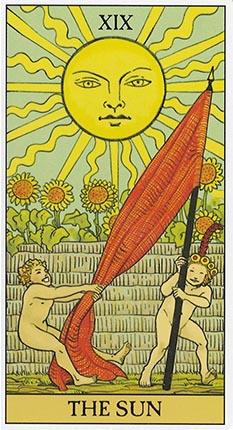 the sun after tarot